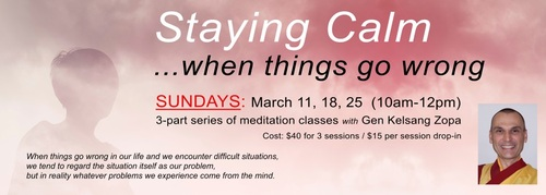 Staying Calm Banner